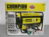 CHAMPION GLOBAL POWER EQUIPMENT PORTABLE GENERATOR 42436, NEVER USED
